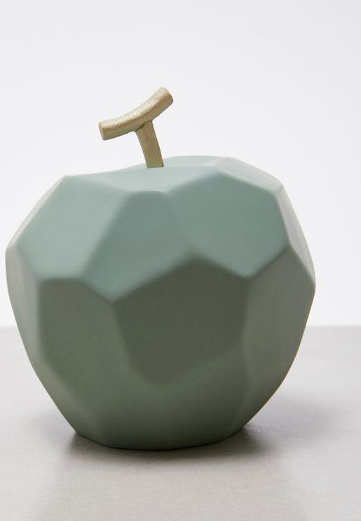 تمثال اوريغامي علي شكل تفاحة