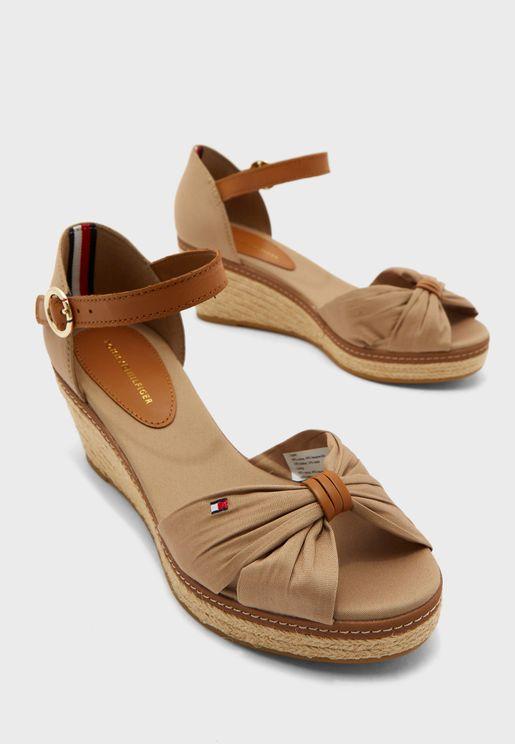 Iconic Elba Wedge Sandal - 068