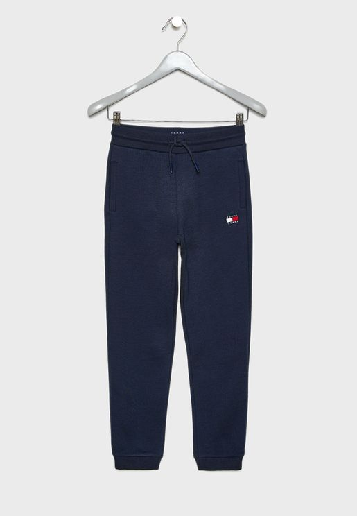 Teen Logo Patch Sweatpants
