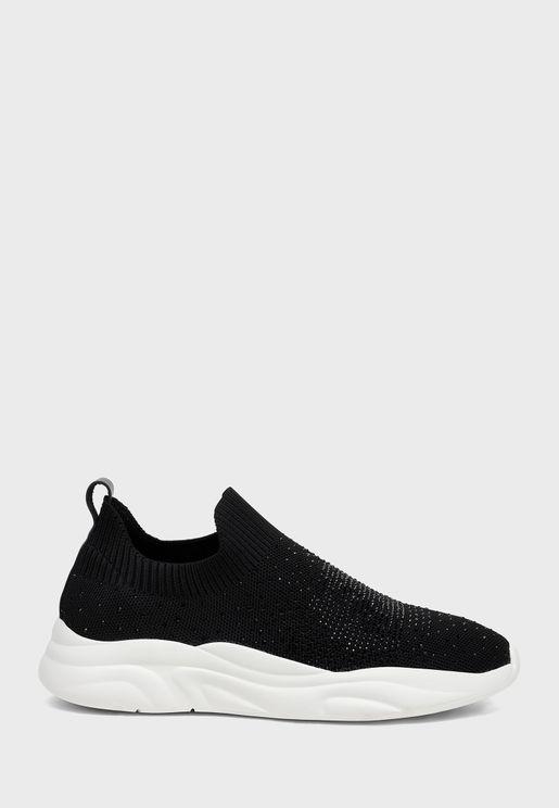 حذاء براق سهل الارتداء