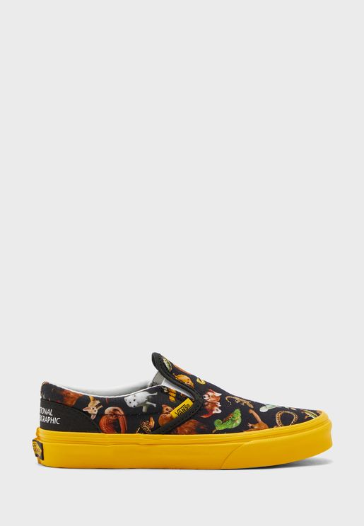 Youth National Geographic Classic Slip On