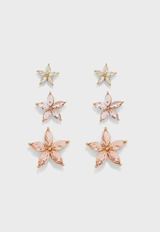 Star Earrings Sets