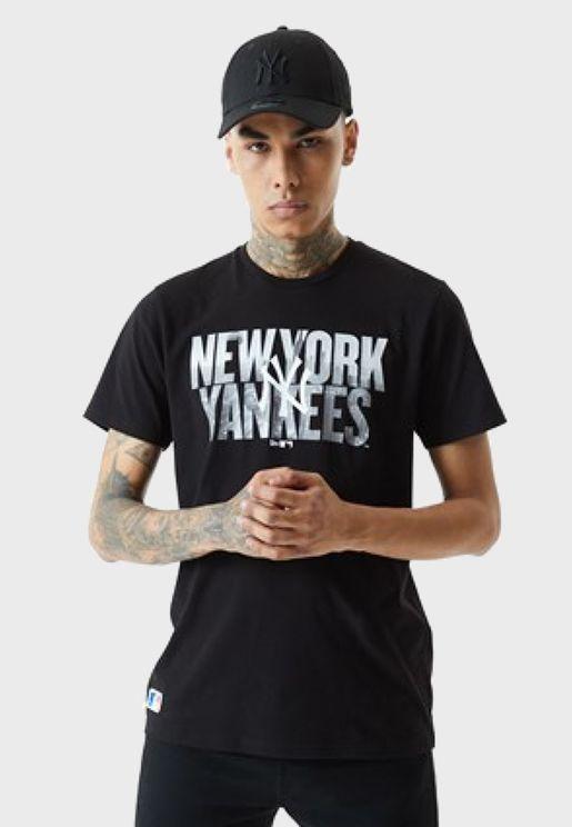New York Yankees Wordmark T-Shirt