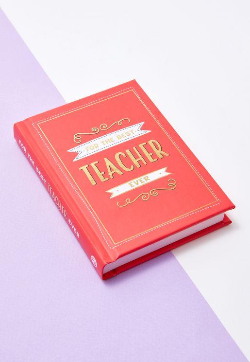 """كتاب """"لأفضل معلم على الاطلاق"""""""