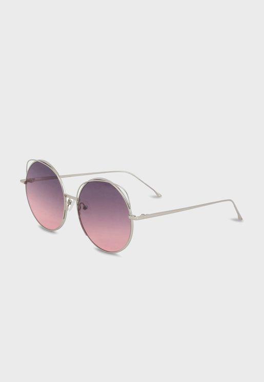 Round Oversized Sunglasses