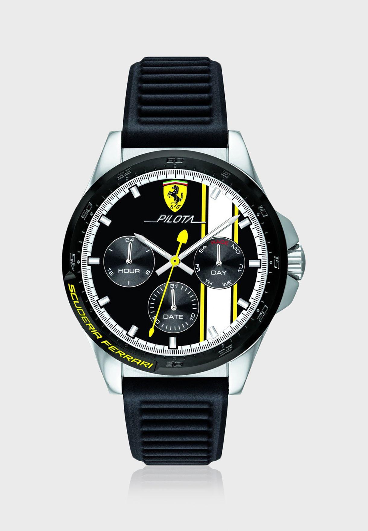 830659 Pilota Chronograph Watch