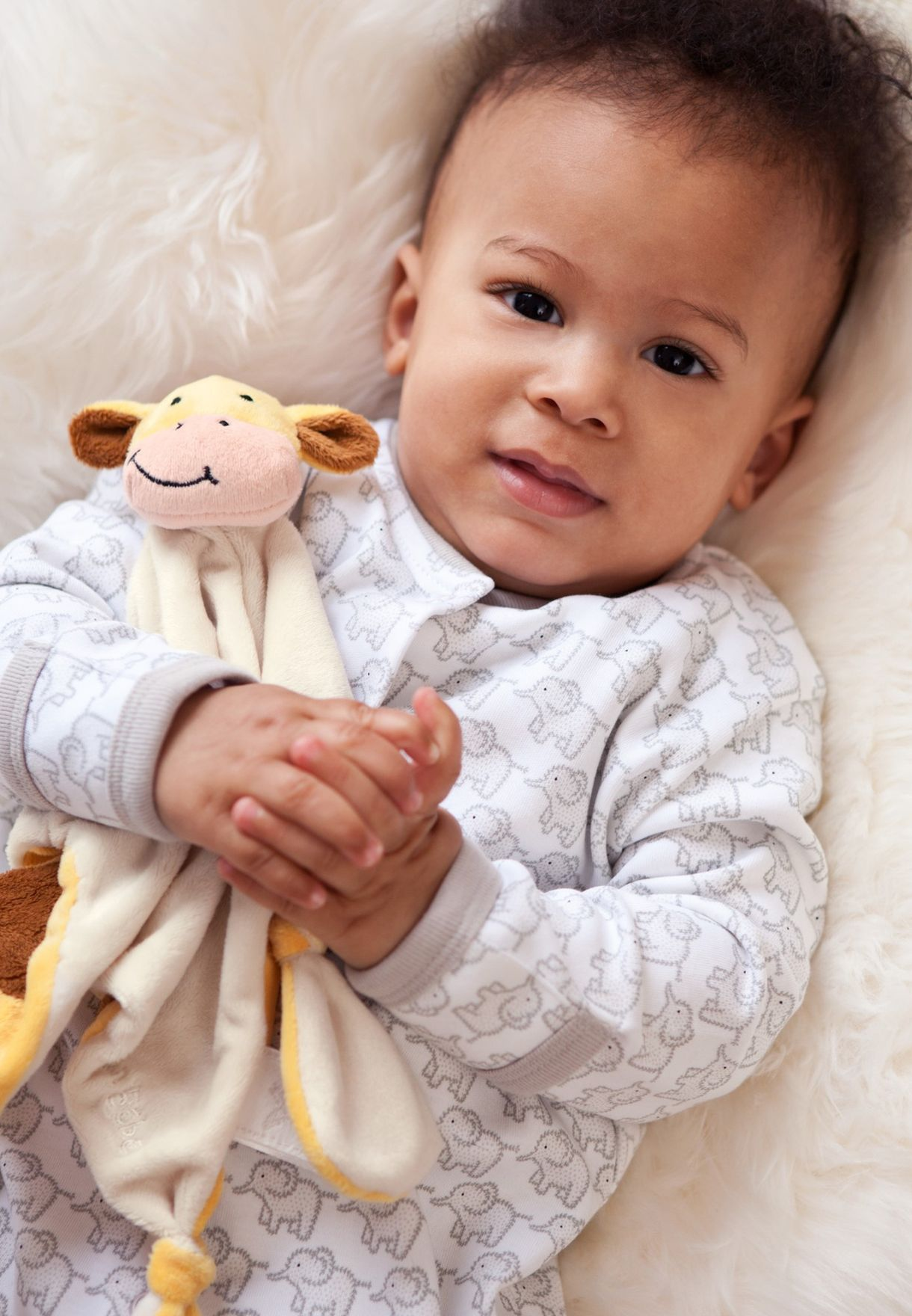 بطانية اطفال شكل زرافة