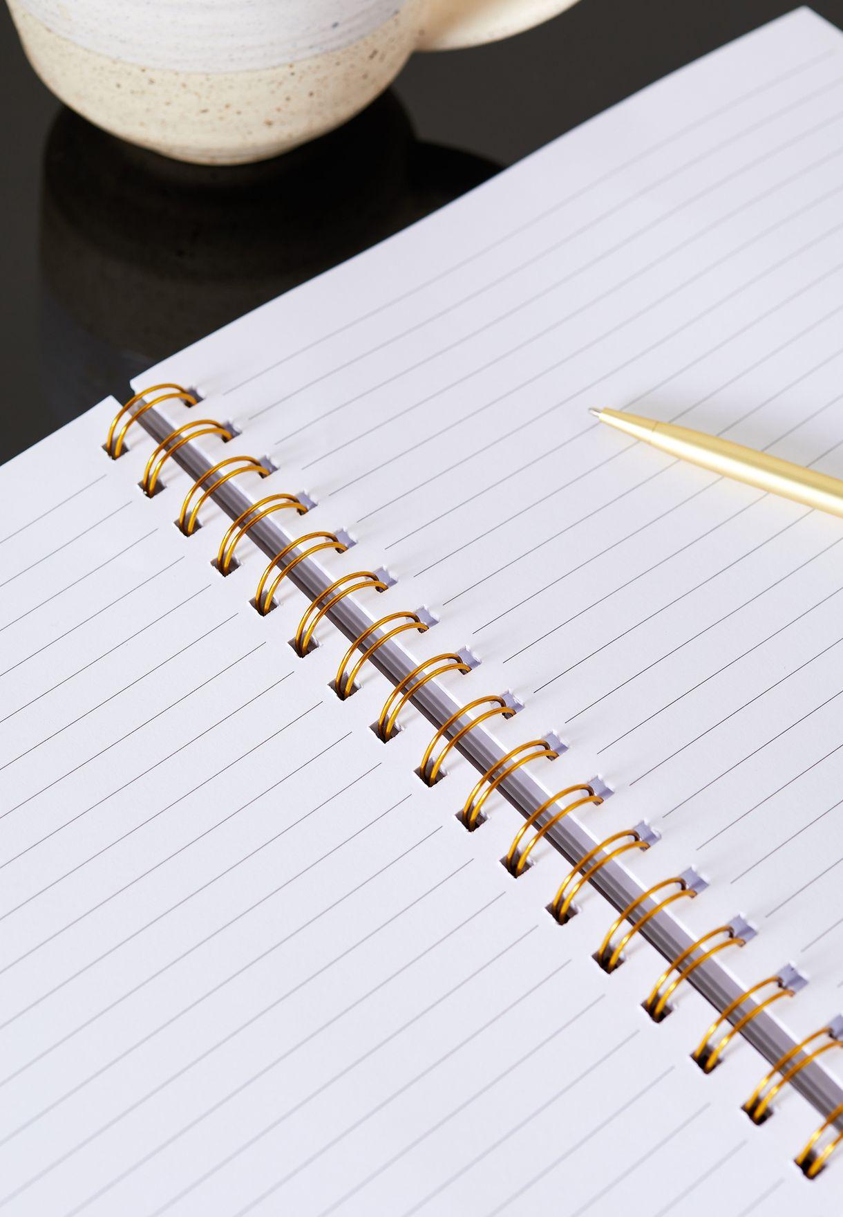 دفتر ملاحظات A4 بطباعة غرافيك
