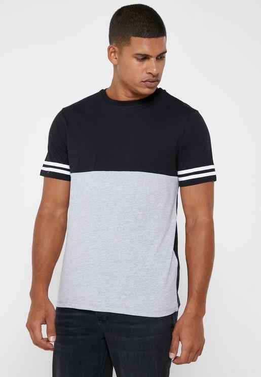 Colourblock T Shirt