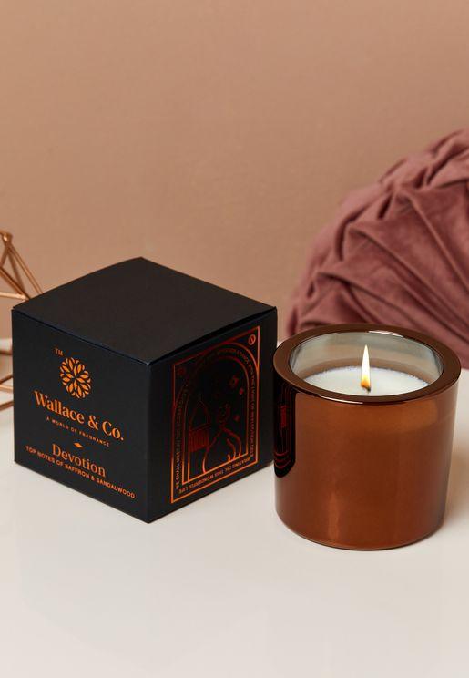 Oudh & Saffron Devotion Candle 200Ml