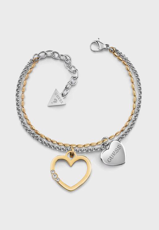 Unchain My Heart Charm Bracelet
