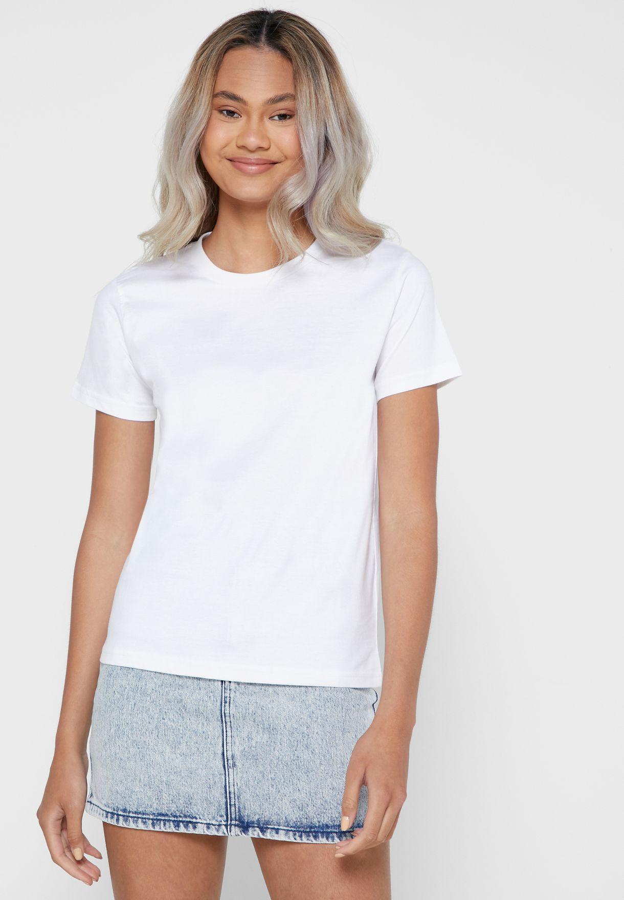 5 Pack Essential Crew Neck T-Shirt