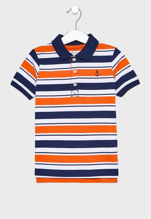 Infant Striped Polo