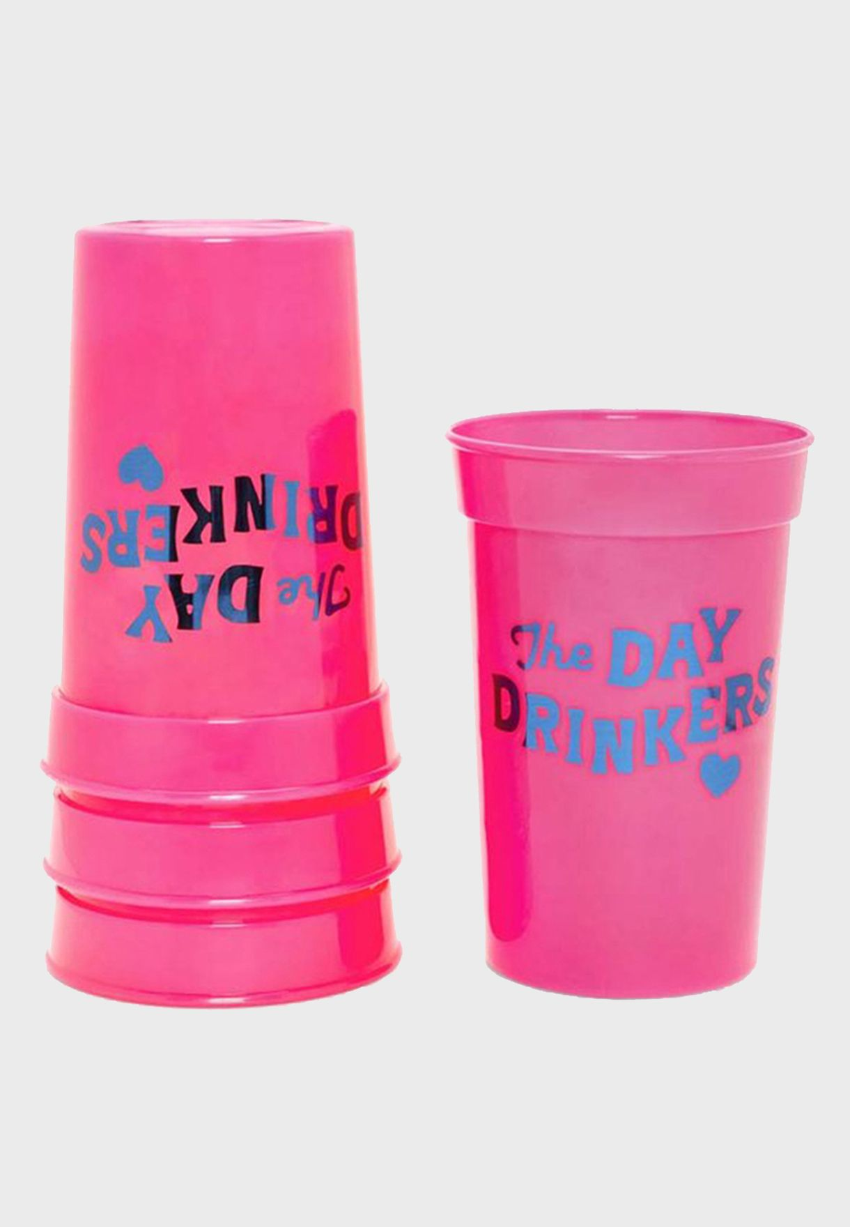 Set Of 4 Day Drinkers Cup