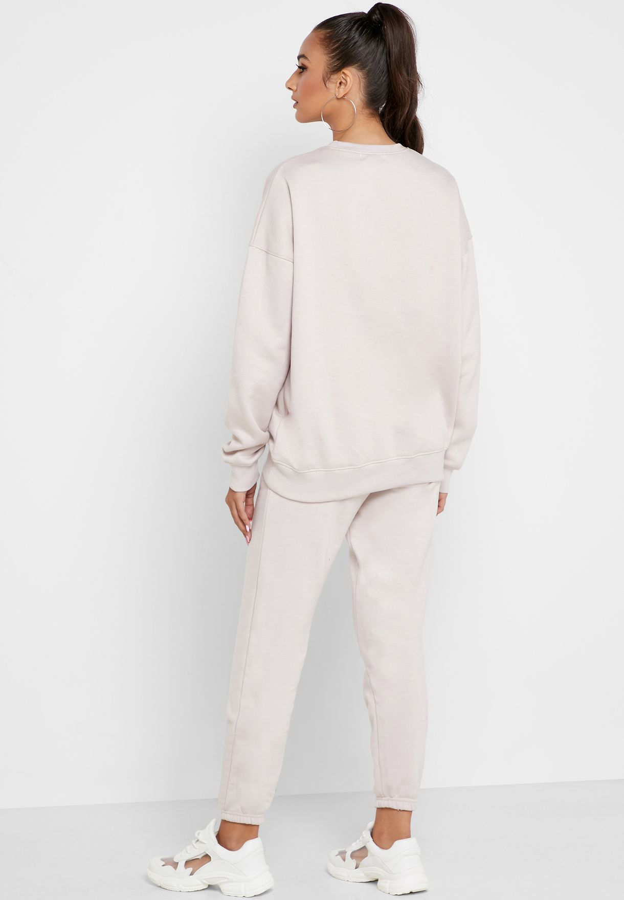Oversized Sweater And Joggers Set Co Ord