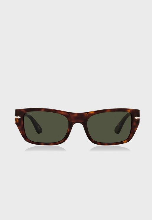 0Po3268S Oversized Sunglasses