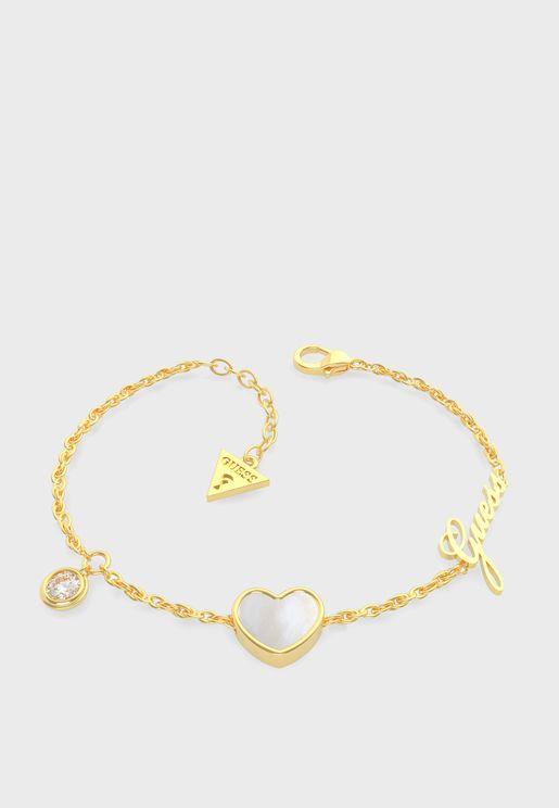 Heart Crystal Bracelet