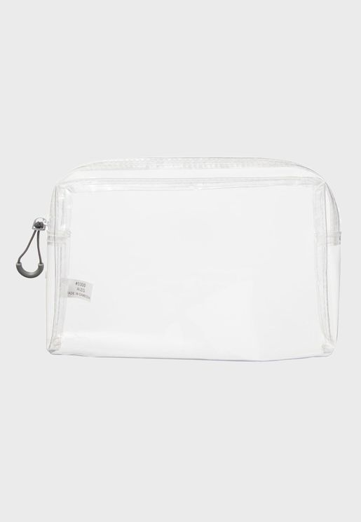 Clear Case With Gusset