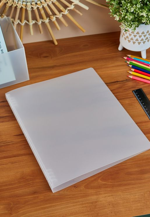 Binder With One Touch Ring