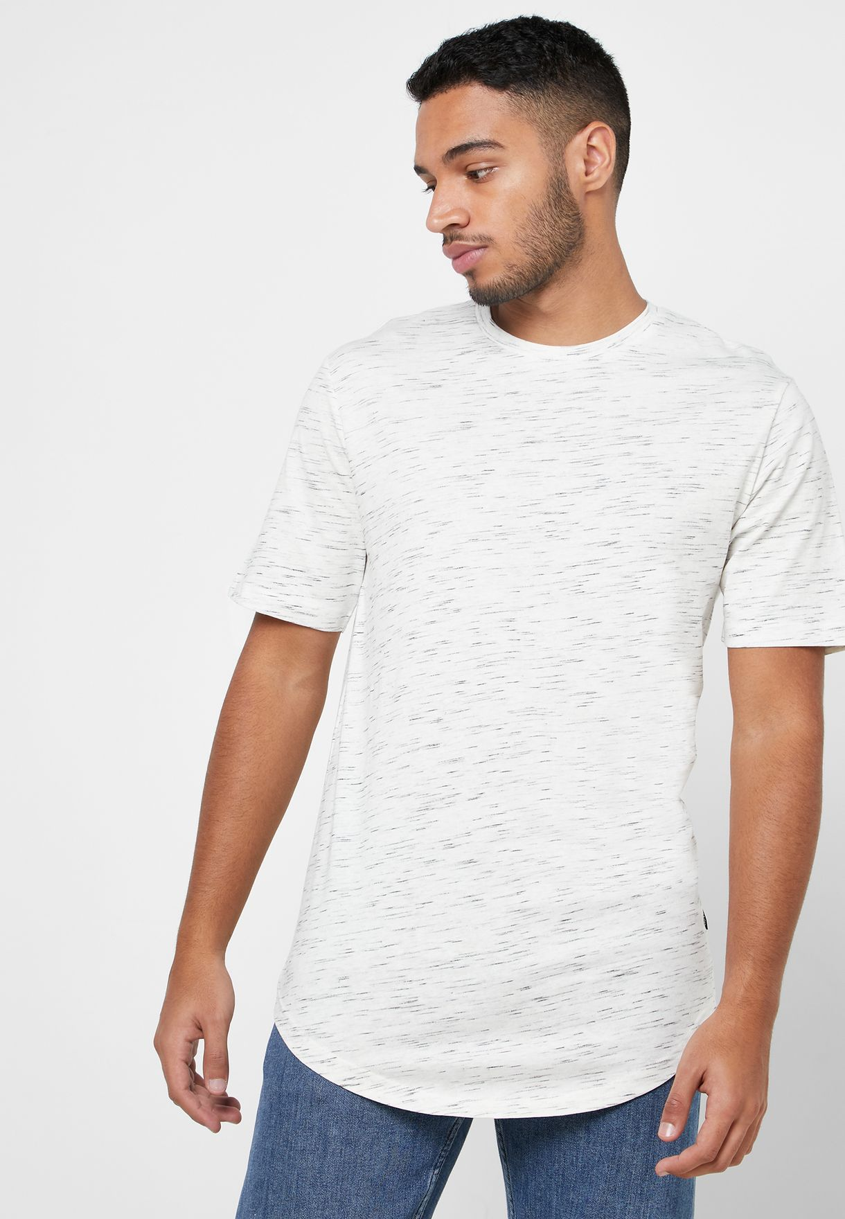 Matty Longline Crew Neck T-Shirt