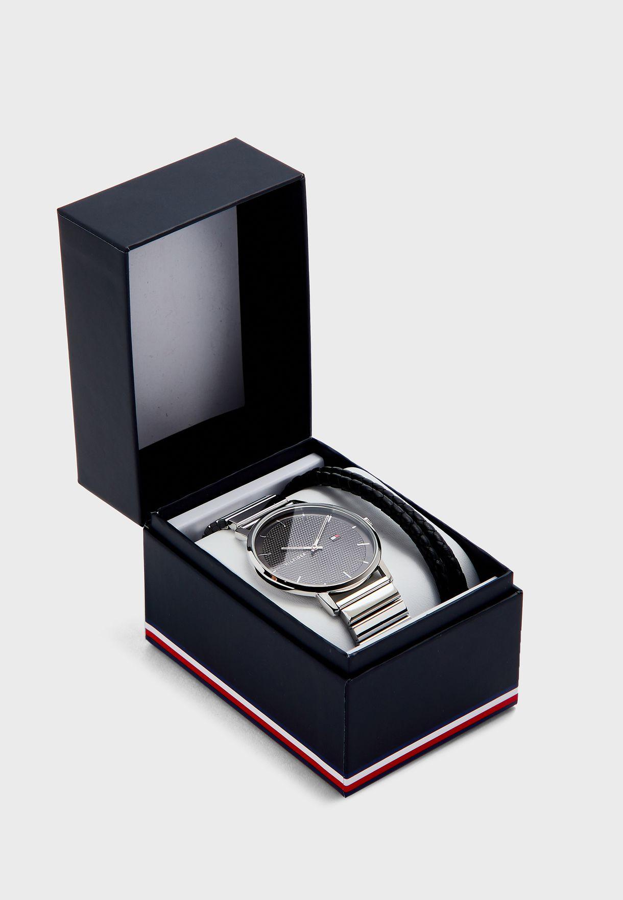 James Watch & Bracelet Gift Set