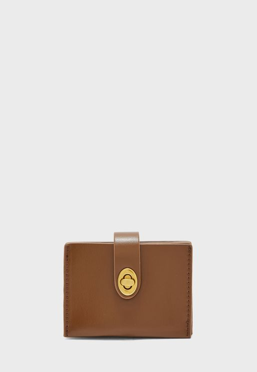 Turn Clasp Wallet