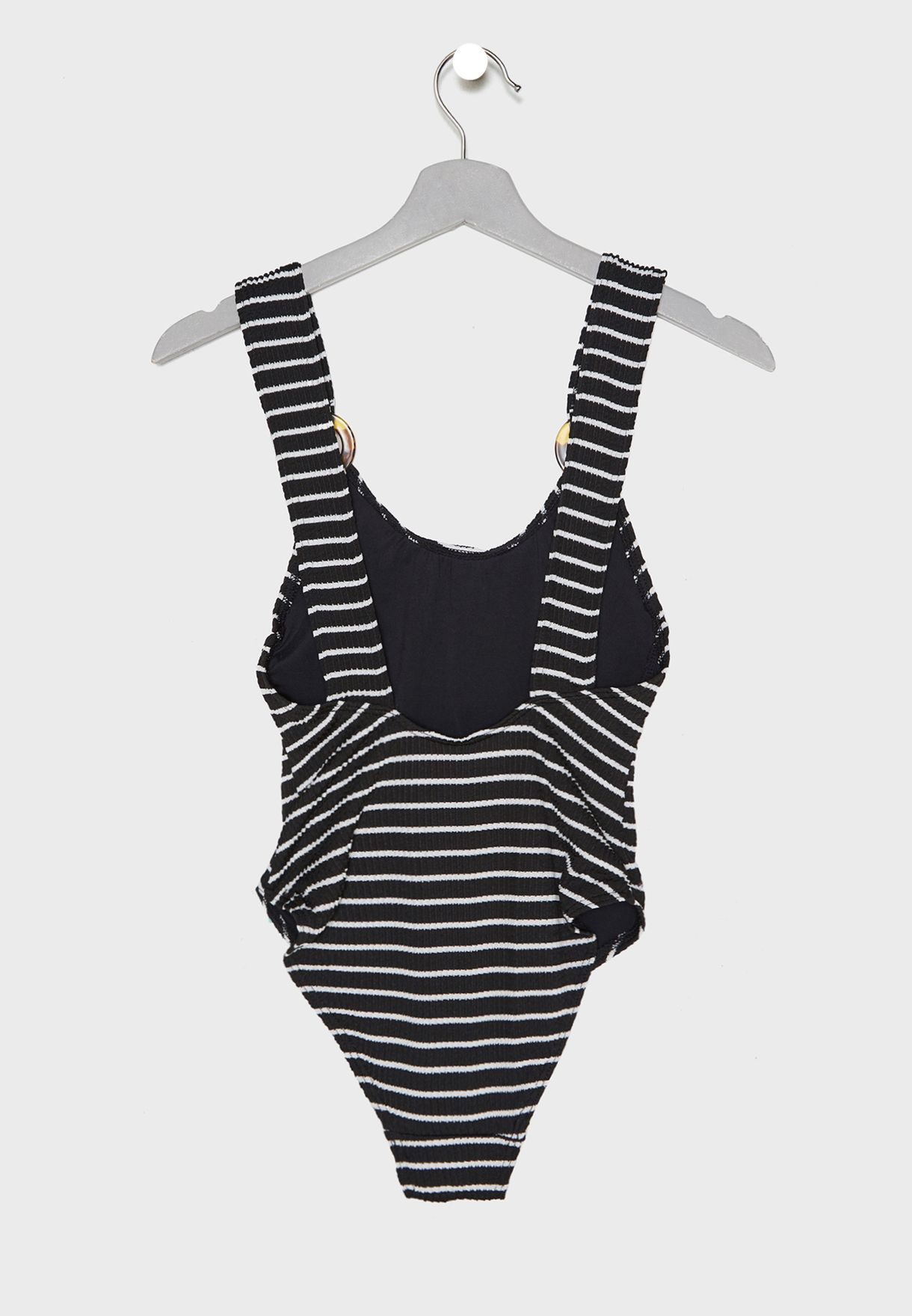 f5ab2122b8155b Shop New Look monochrome Striped Swimsuit 608473609 for Women in UAE ...