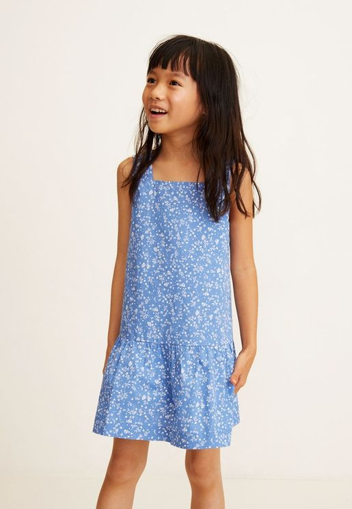 Kids Laia Printed Dress