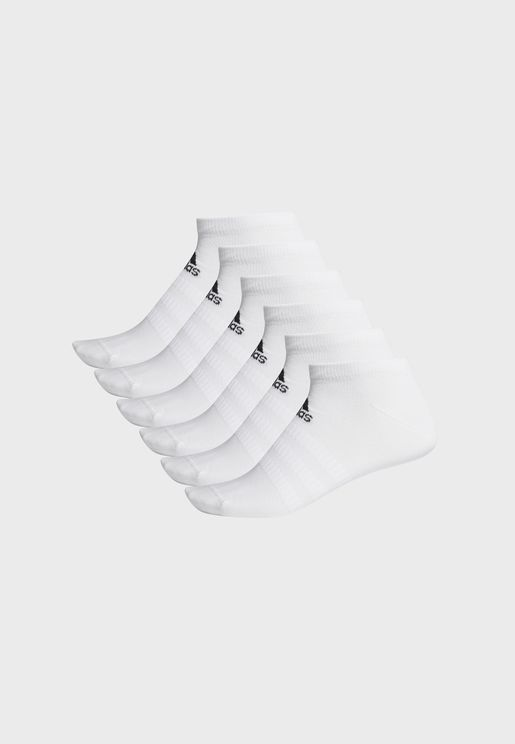 6 Pack Low-Cut Socks