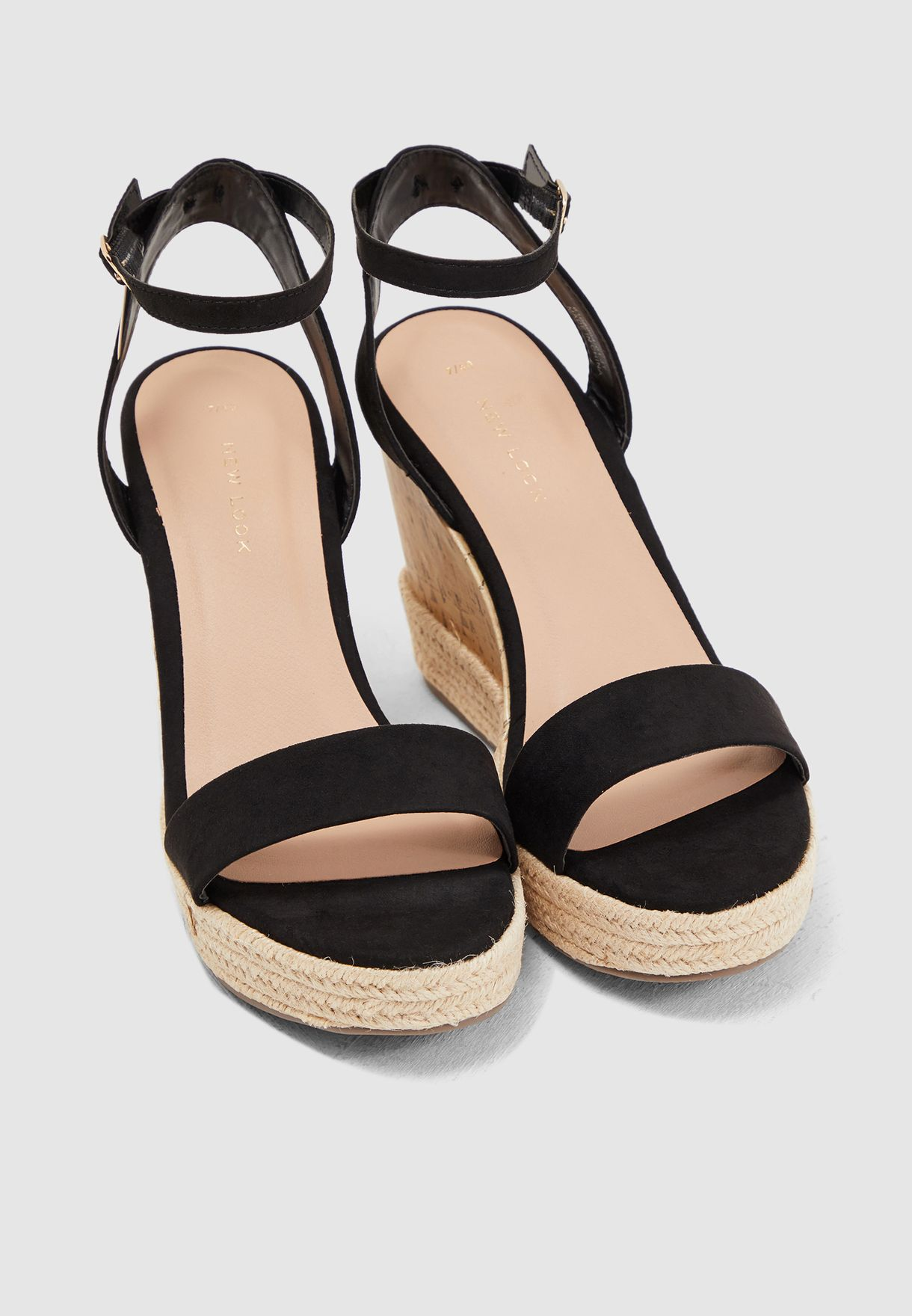 Otter Wedge Sandal - Black