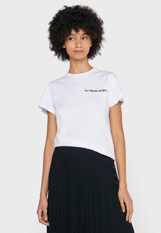 Crew Neck Sunshine T-Shirt
