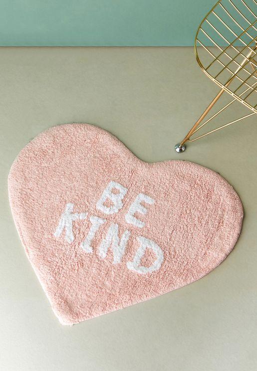 Heart Be Kind Floor Matt