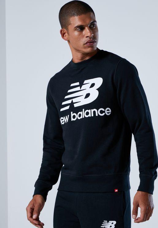 Essential Stacked Logo Sweatshirt