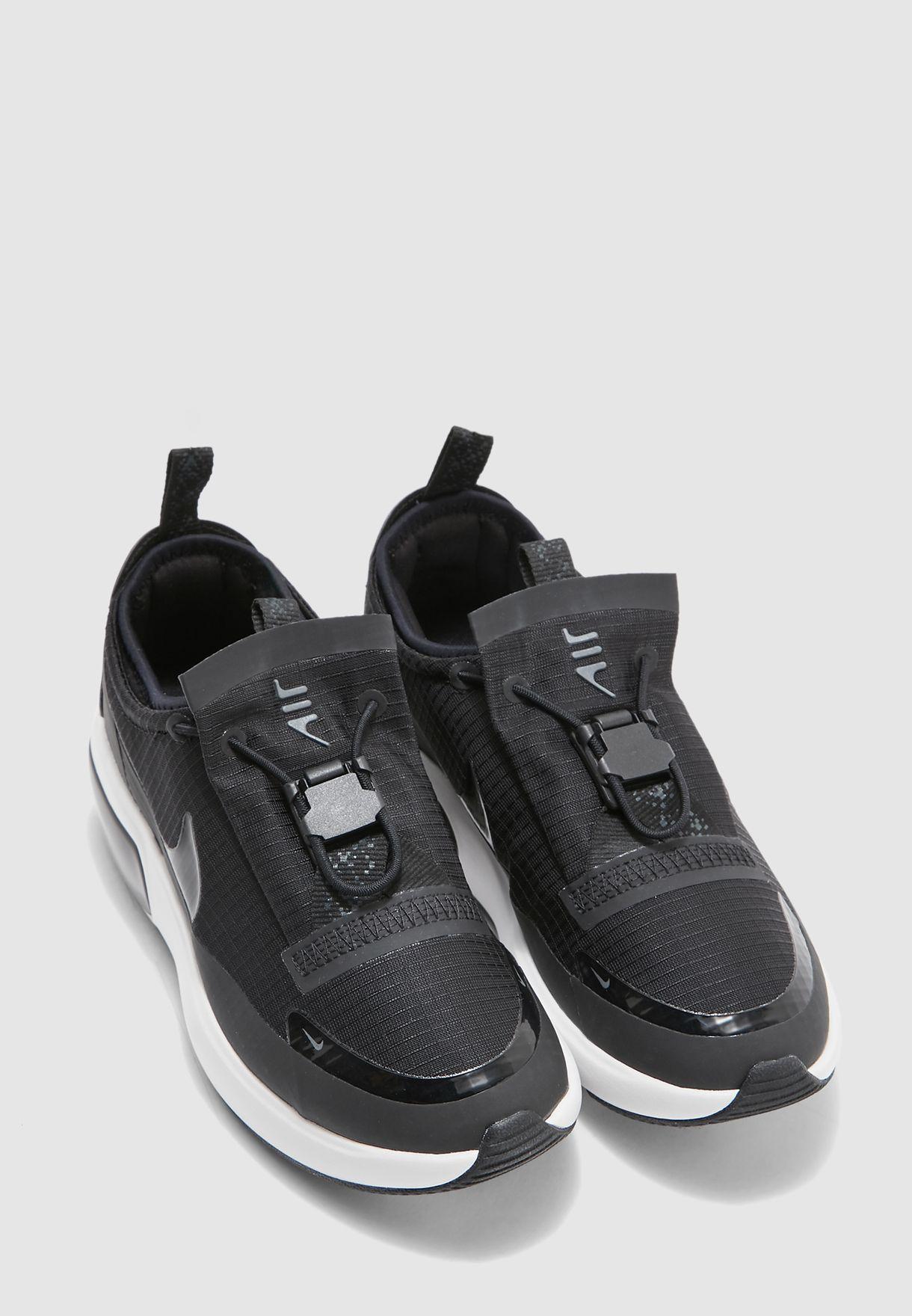Goma ligeramente recomendar  Shop Nike black Air Max Dia Winter BQ9665-001 for Women in ...
