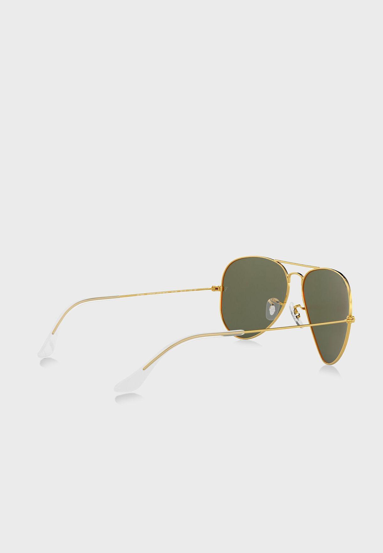 0Rb3025 Aviator Sunglasses