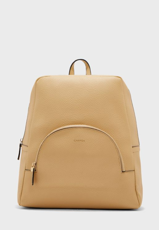 Front Zip Backpack
