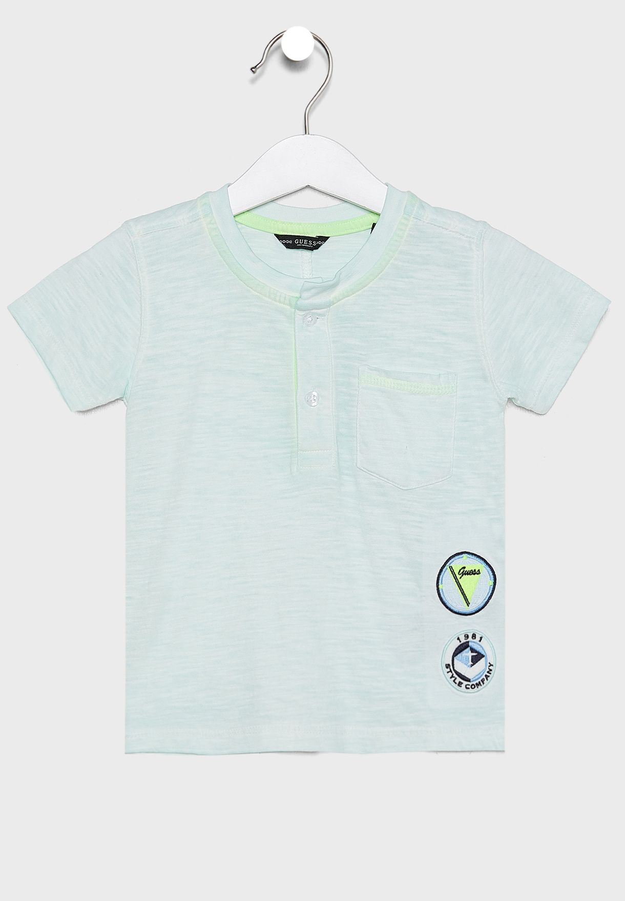Kids Slub Jersey T-Shirt