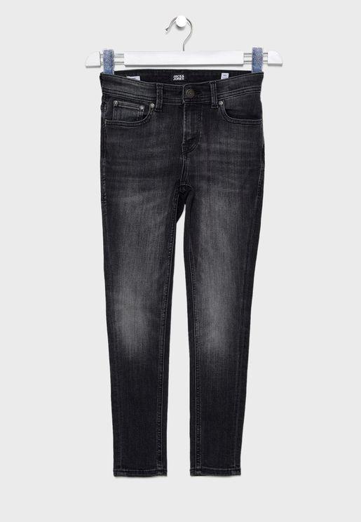 Kids Liam Skinny Fit Jeans