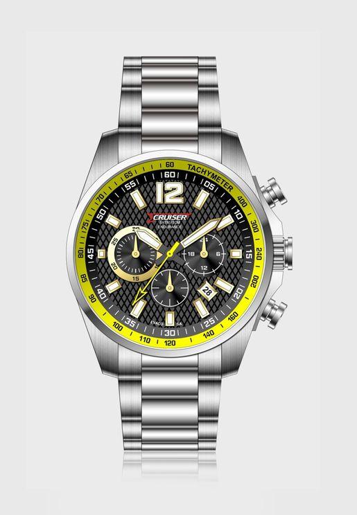 Band Chronograph Analog Watch