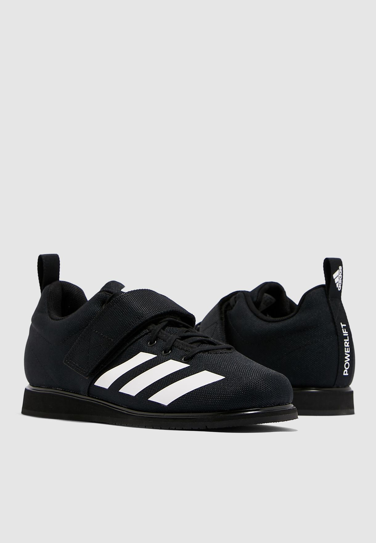 BRAND NEW All Sizes! Adidas Powerlift 4 Trainers for Men Black