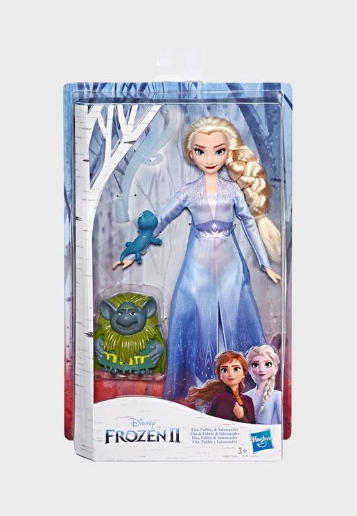 Disney Frozen Storytelling Fashion Doll - Elsa