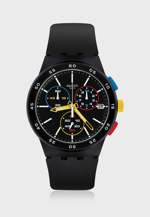 Sporty Analog Watch