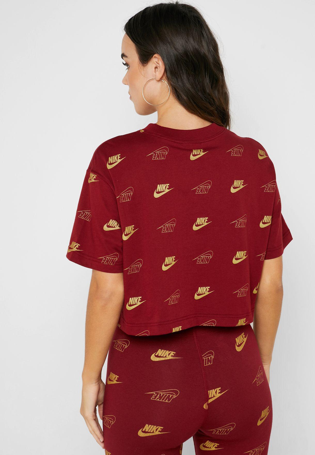 NSW Shine Cropped T-Shirt