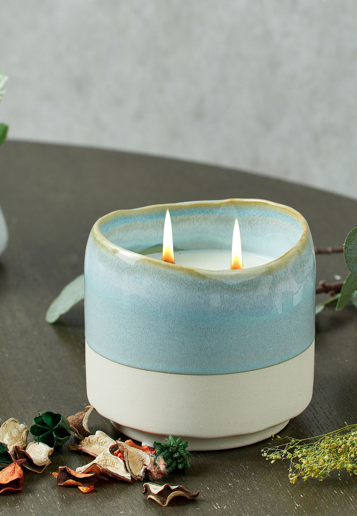 Green Pear & Wildflower Serenity Candle