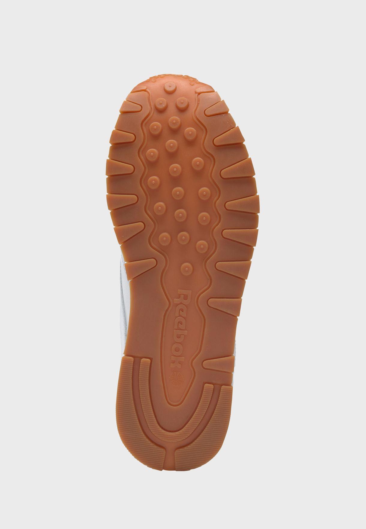 حذاء رياضي جلد اصلي