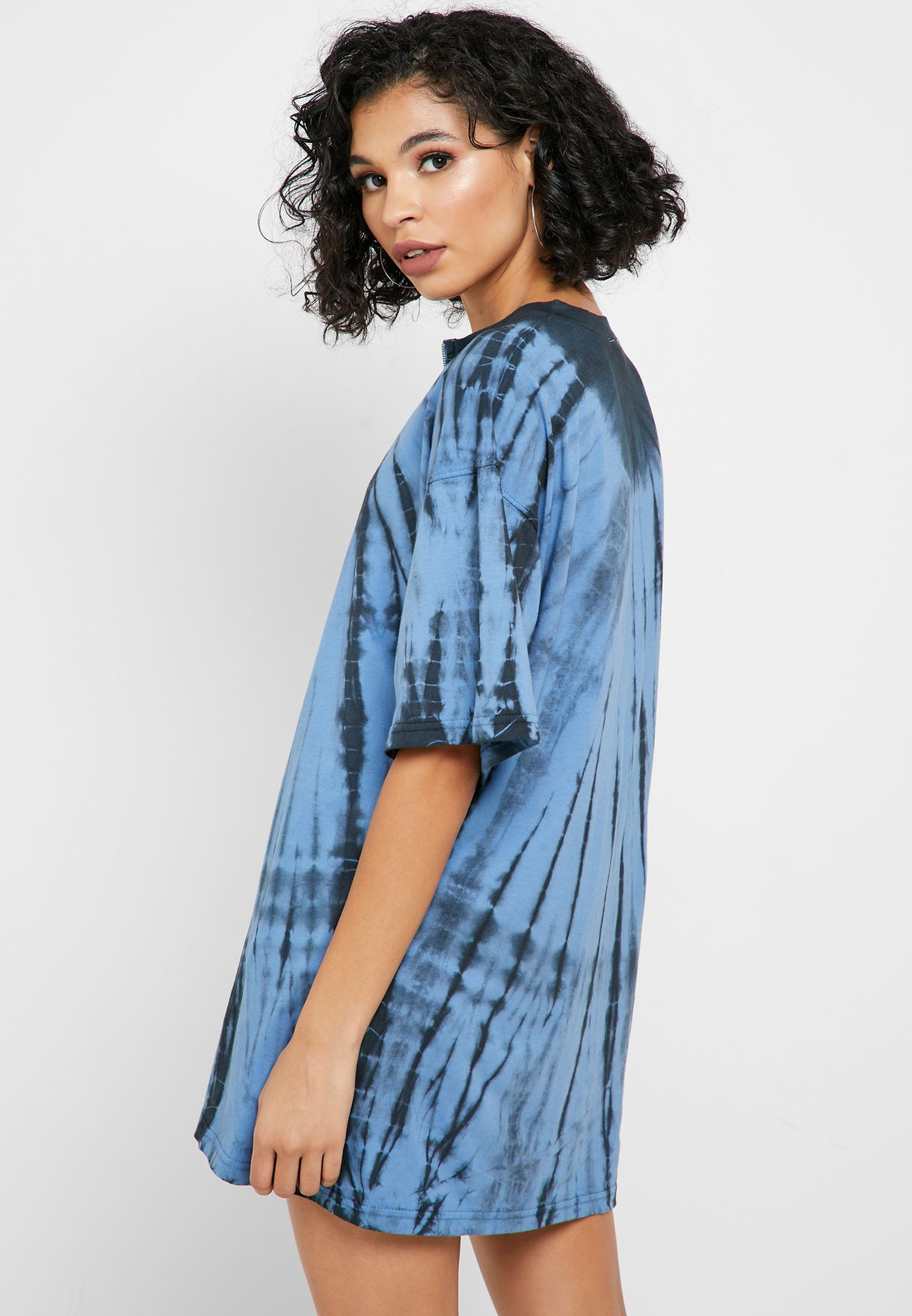 فستان مطبع بسحاب