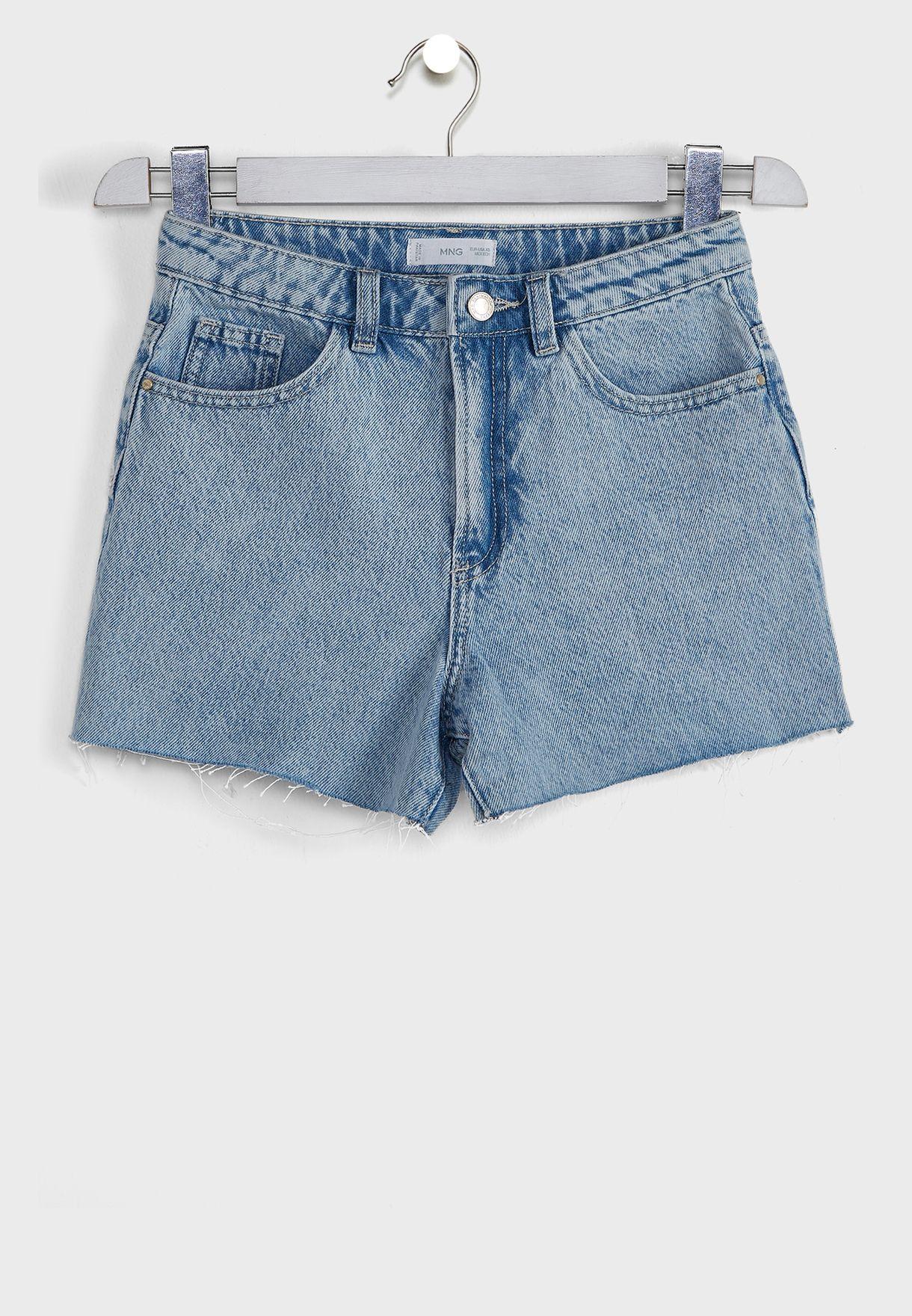 شورت جينز للاطفال