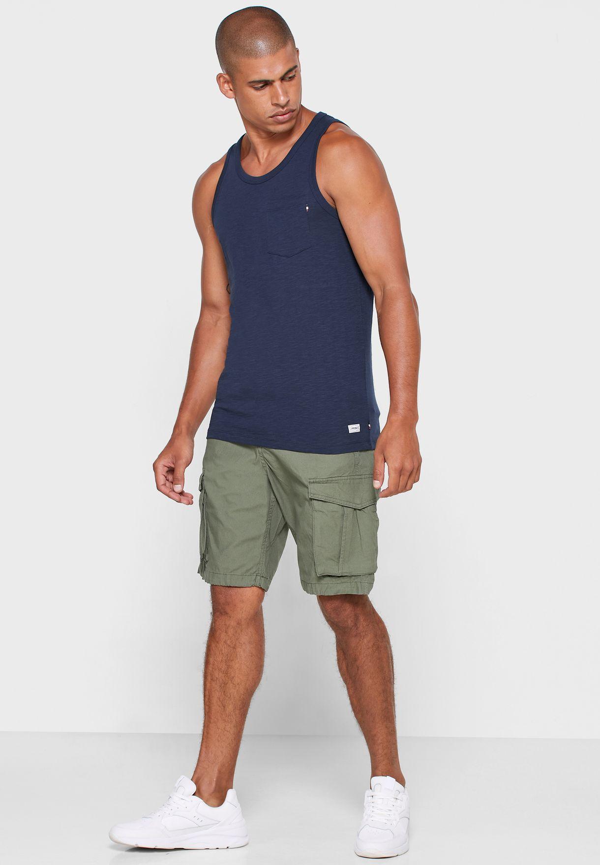 Essential Pocket Detail Vest
