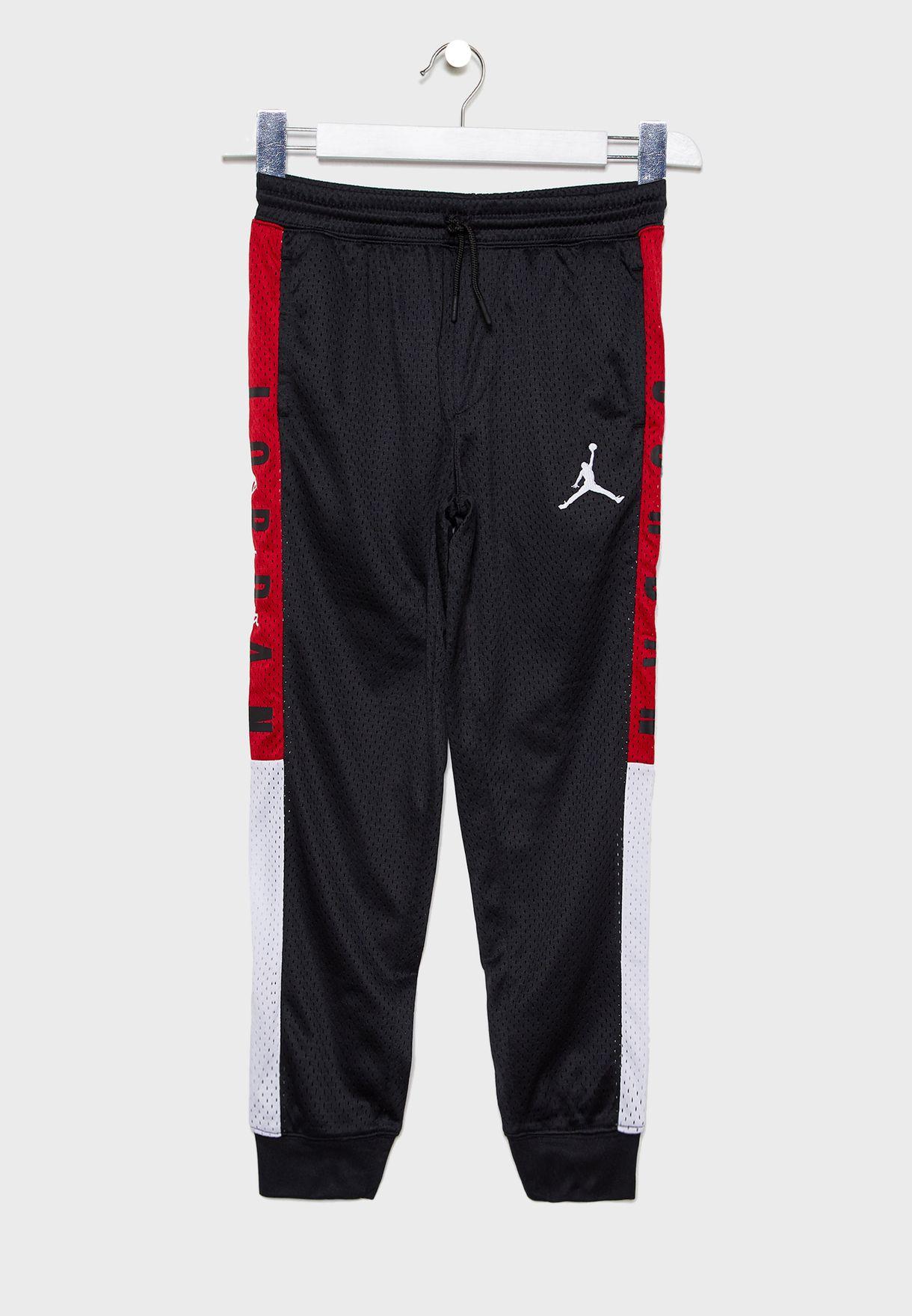 Youth Jordan Sideline Mesh Sweatpants