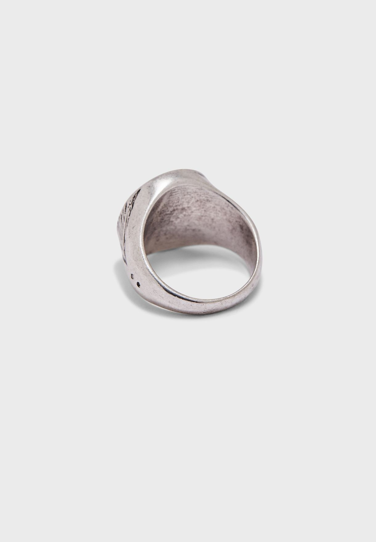 Engraved Tropical Ring